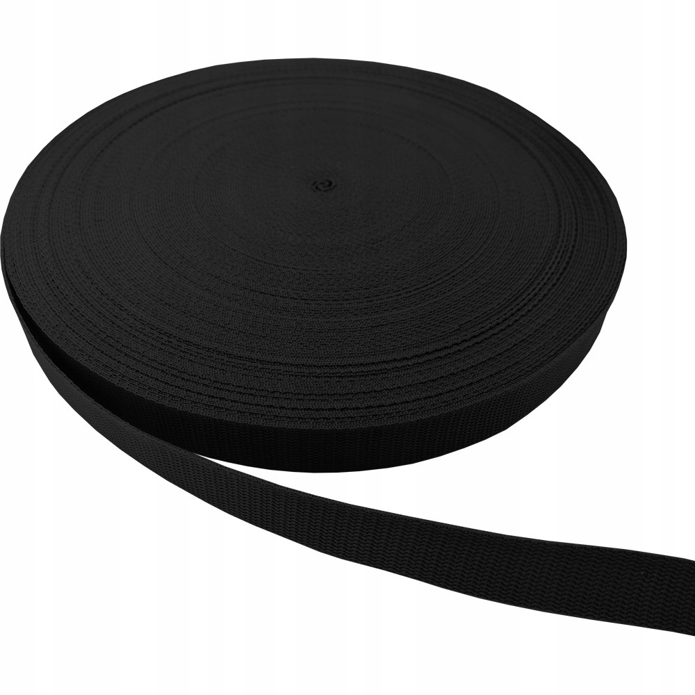 Ремень лямочный 25мм 3м черный