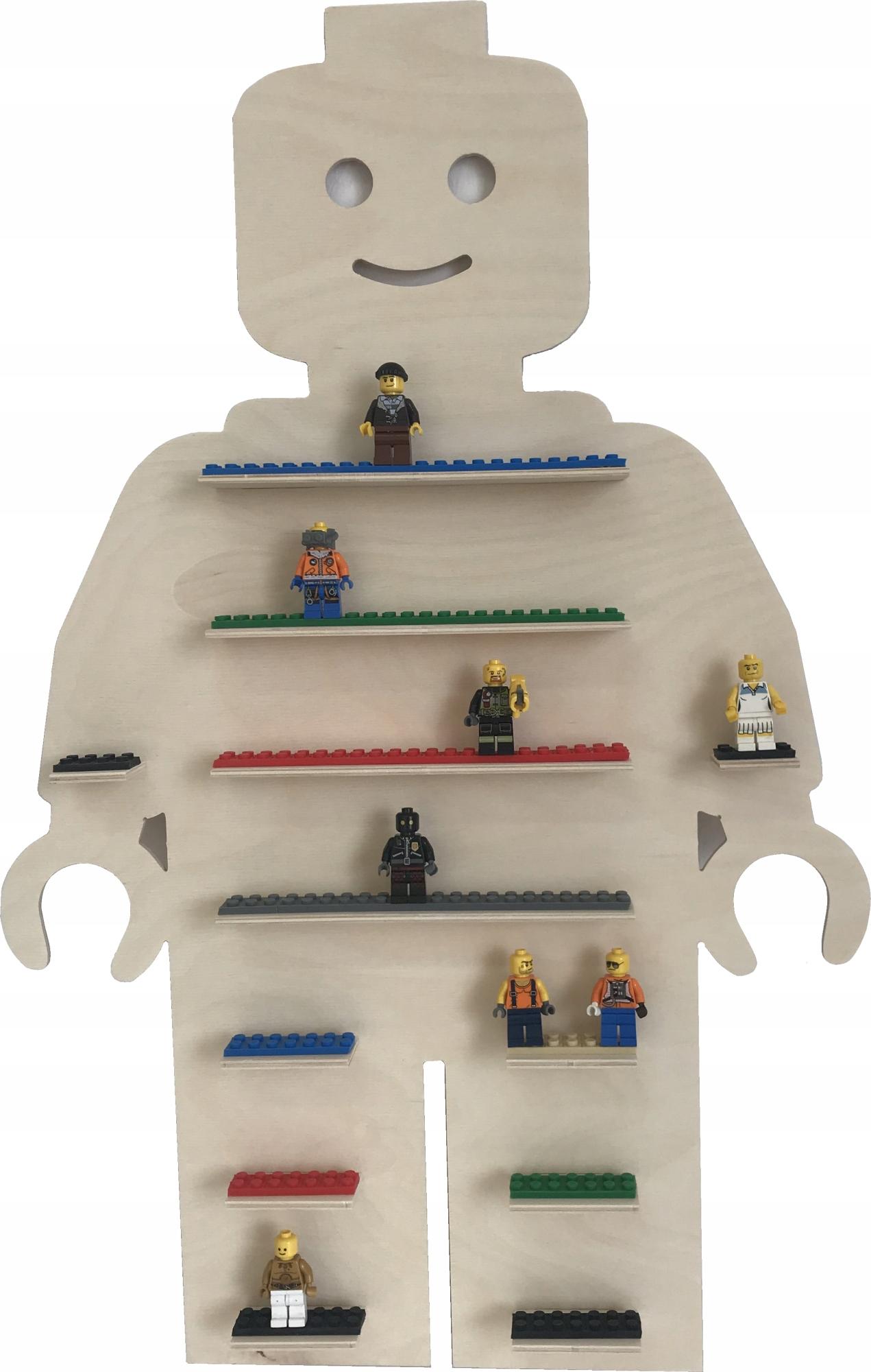 Полка для фигурок лего