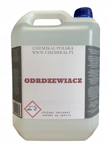 Профессиональное средство для удаления ржавчины 5 л фосфорной кислоты