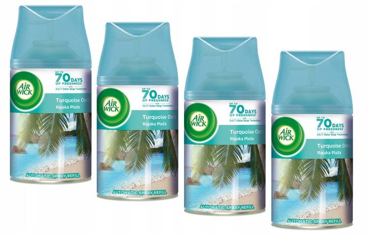 Картридж Air Wick Freshmatic Paradise Beach, 250 мл x4