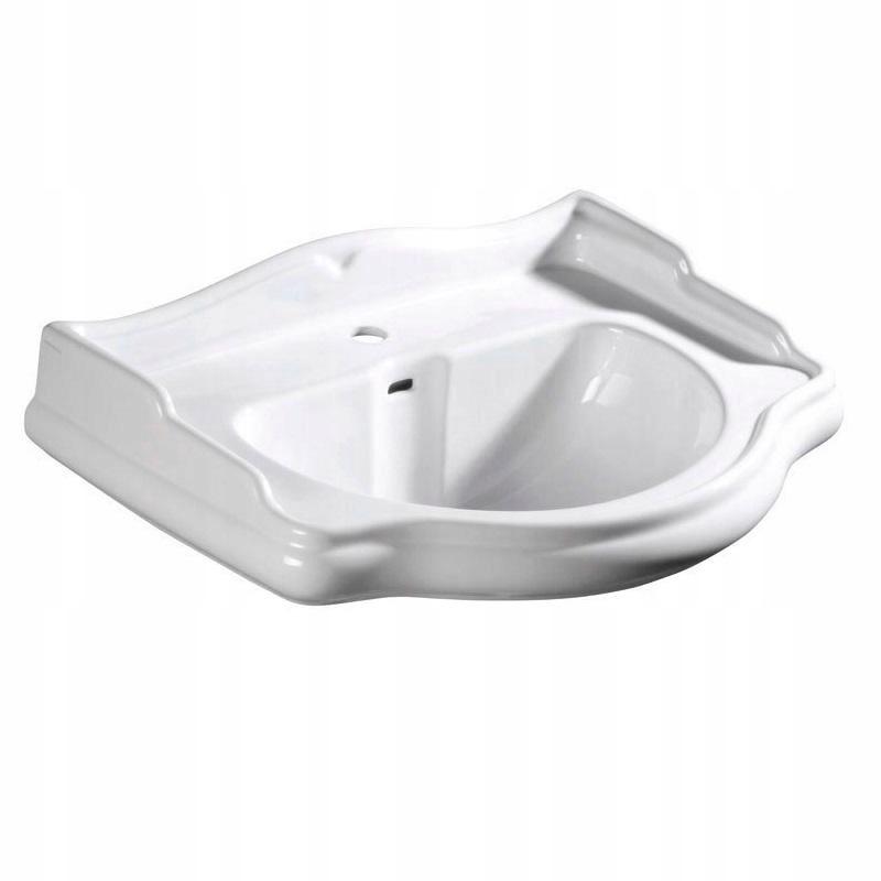 Kerasan Retro závesné umývadlo 73 x 54 biele