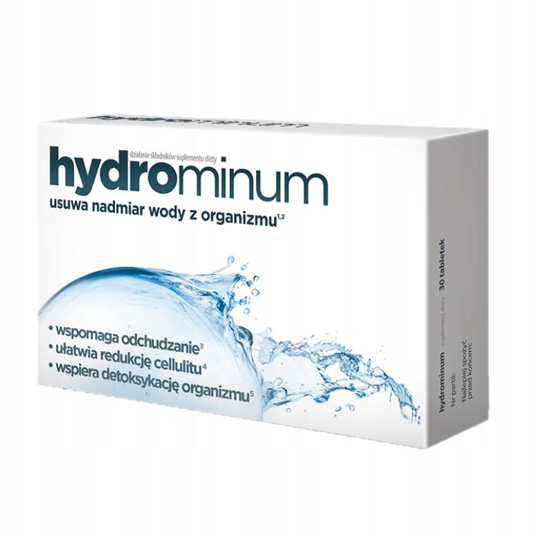 Hydrominum 30 tabliet ODSTRÁNENIE CELULITITOVEJ VODY