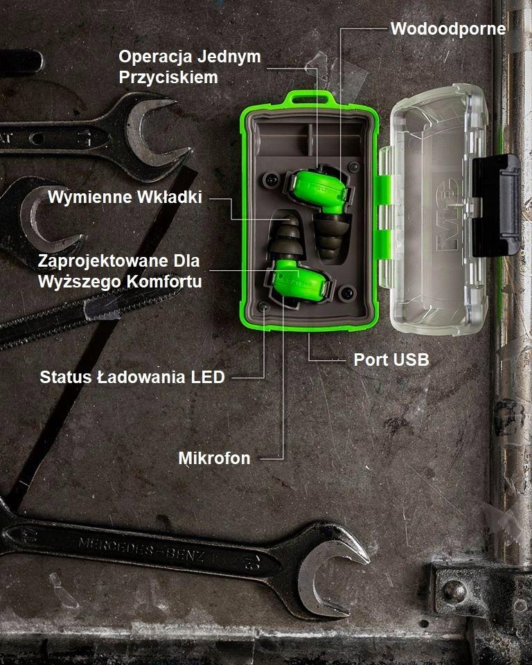 Ochronnik słuchu 3M Peltor EEP 100 Wkładki douszne Marka 3M