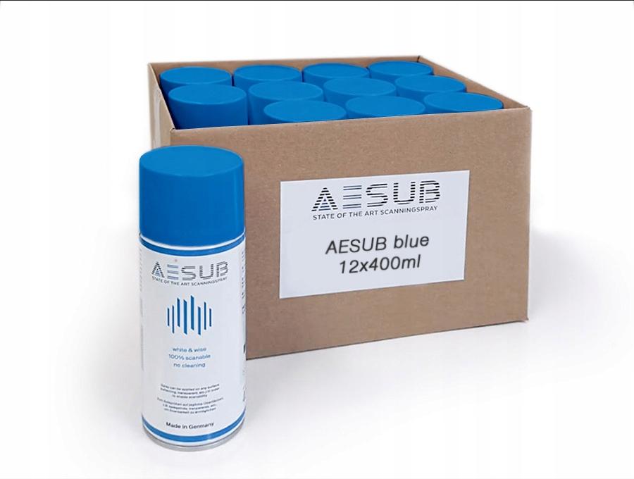 AESUB Blue spray do skanowania 3D - 24 szt