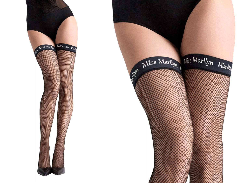 Marilyn pończochy samonośne kabaretki Coco M12 1/2