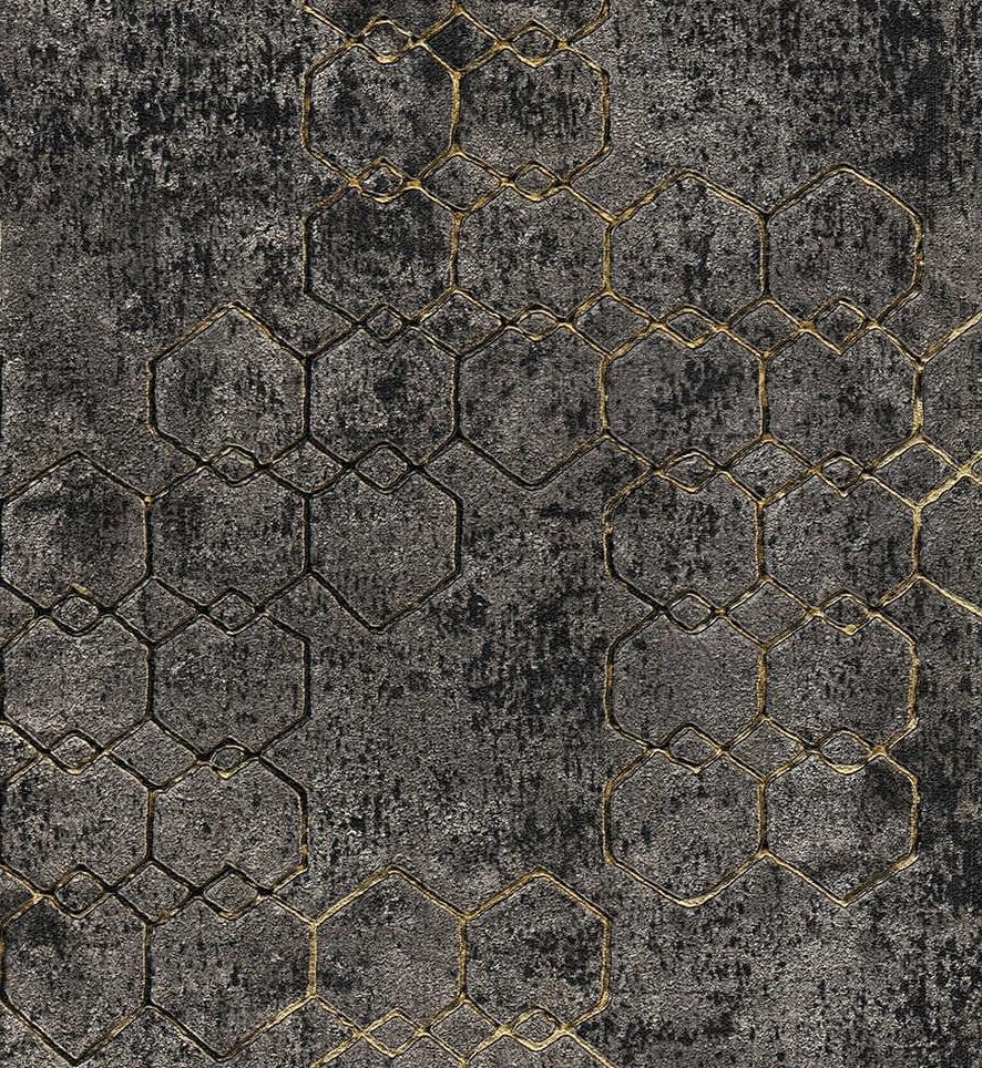 Heksagon-Loft- TAPETA-New Walls-AS Creation