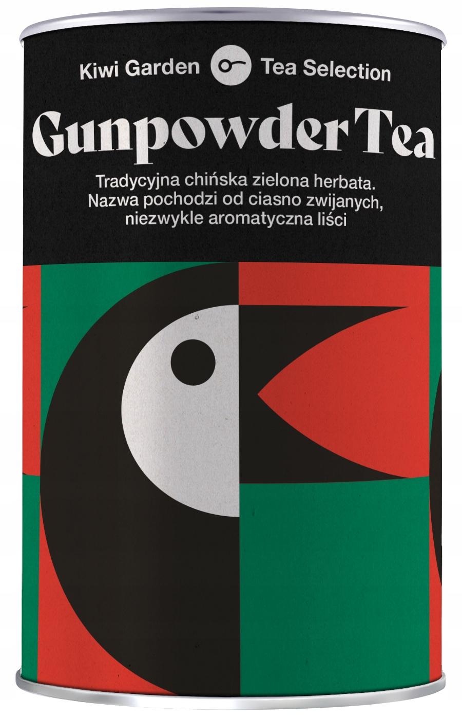 Чай зеленый GUNPOWDER рассыпной Киви 100г
