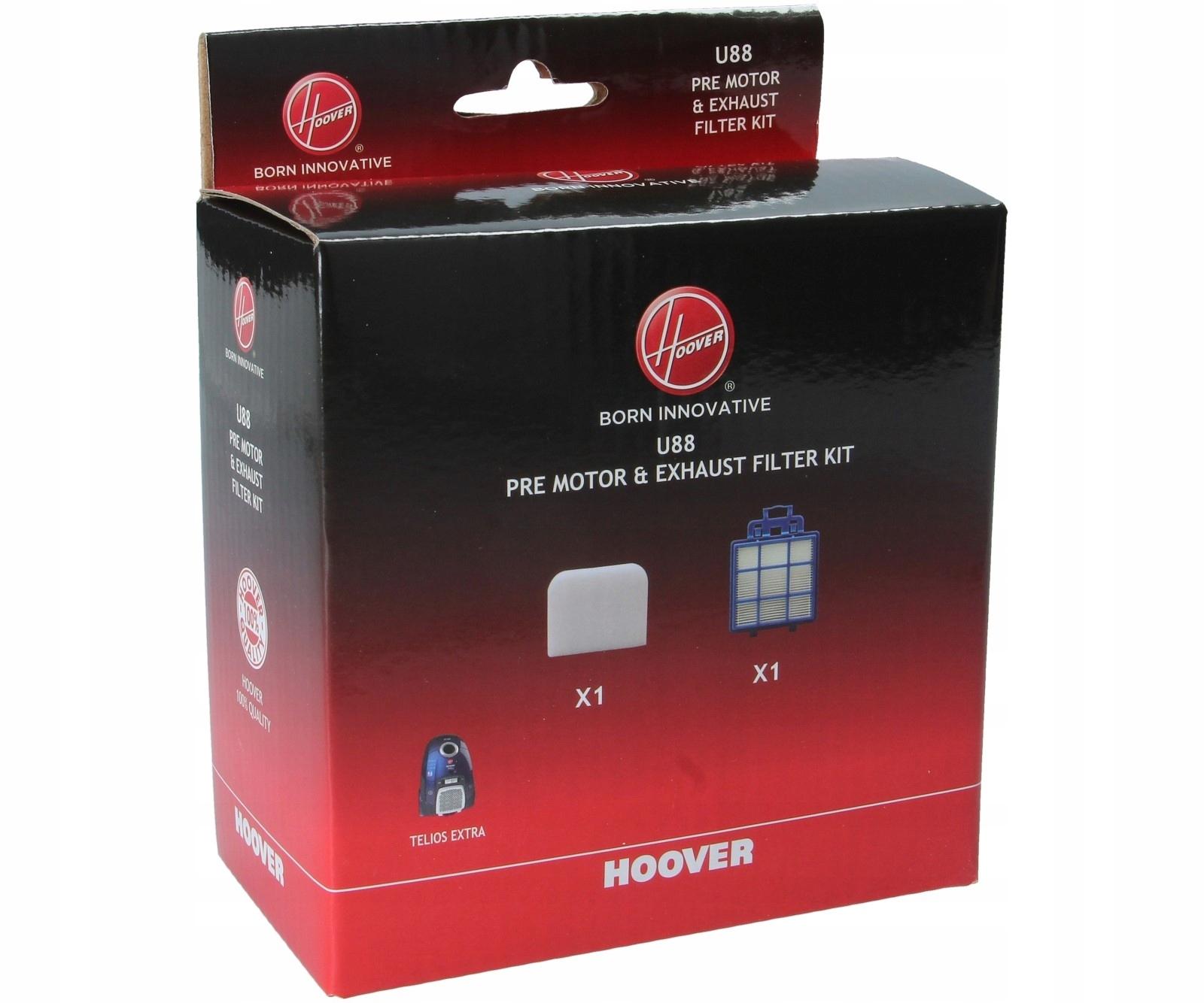FILTER Hepa U88 pre vysávač HOOVER Telios Extra