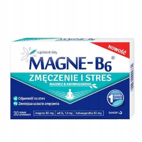 Magne-B6 Zmęczenie i Stres, 30tabl.