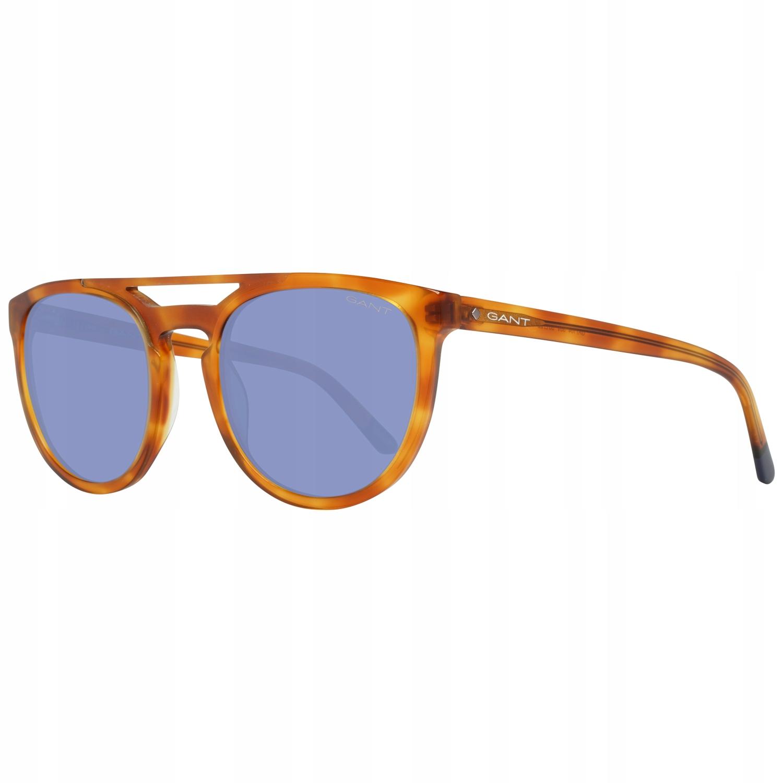 pánske okuliare Gant GA7104 hnedá modrá retro