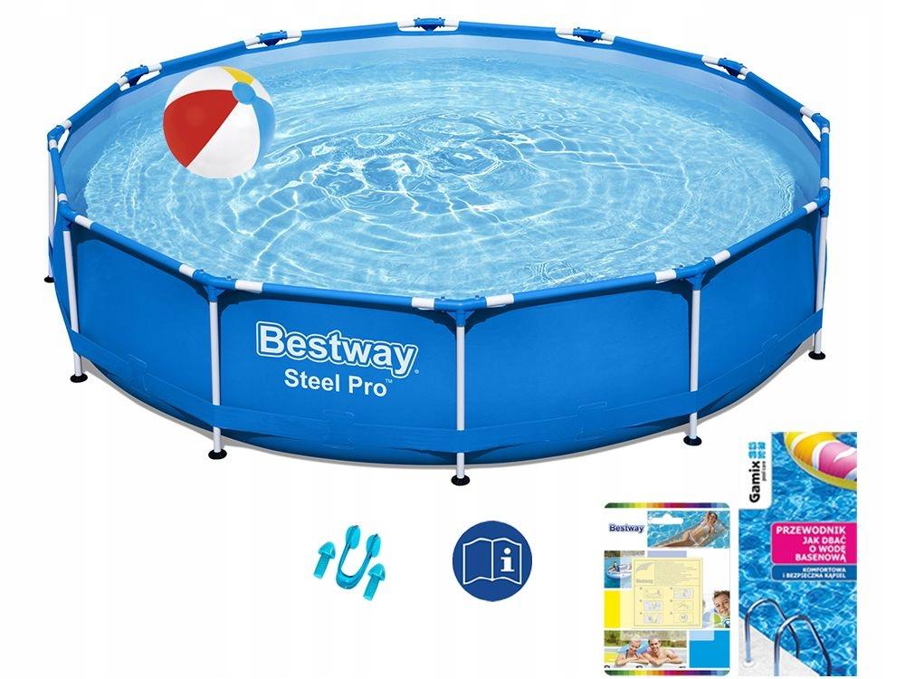 Záhradný bazén Bestway Frame 366x76 56706 6v1