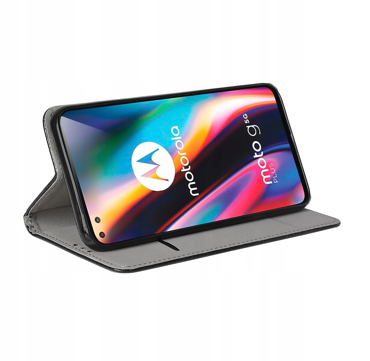 Etui do Motorola Moto G 5G Plus Case Magnet +Szkło Producent INNY