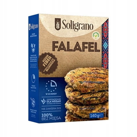 Vege Burger Falafel 140 g Soligrano
