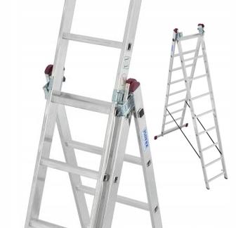 Лестница Krause Corda высота 3х9 роб. 6,20 м