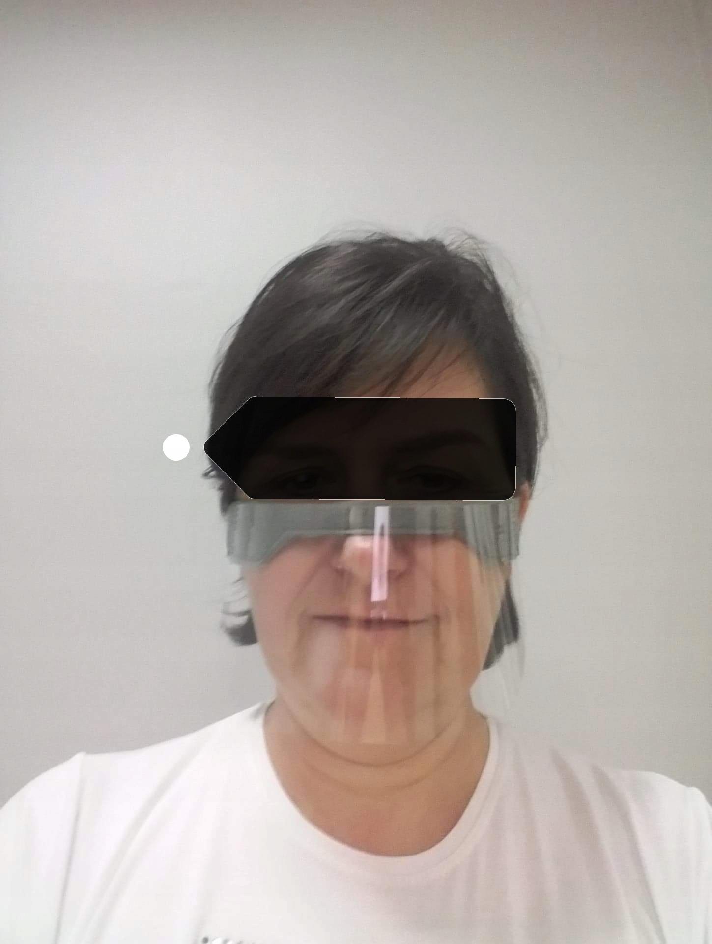 мини-шлем маска для носа и рта полузащитник