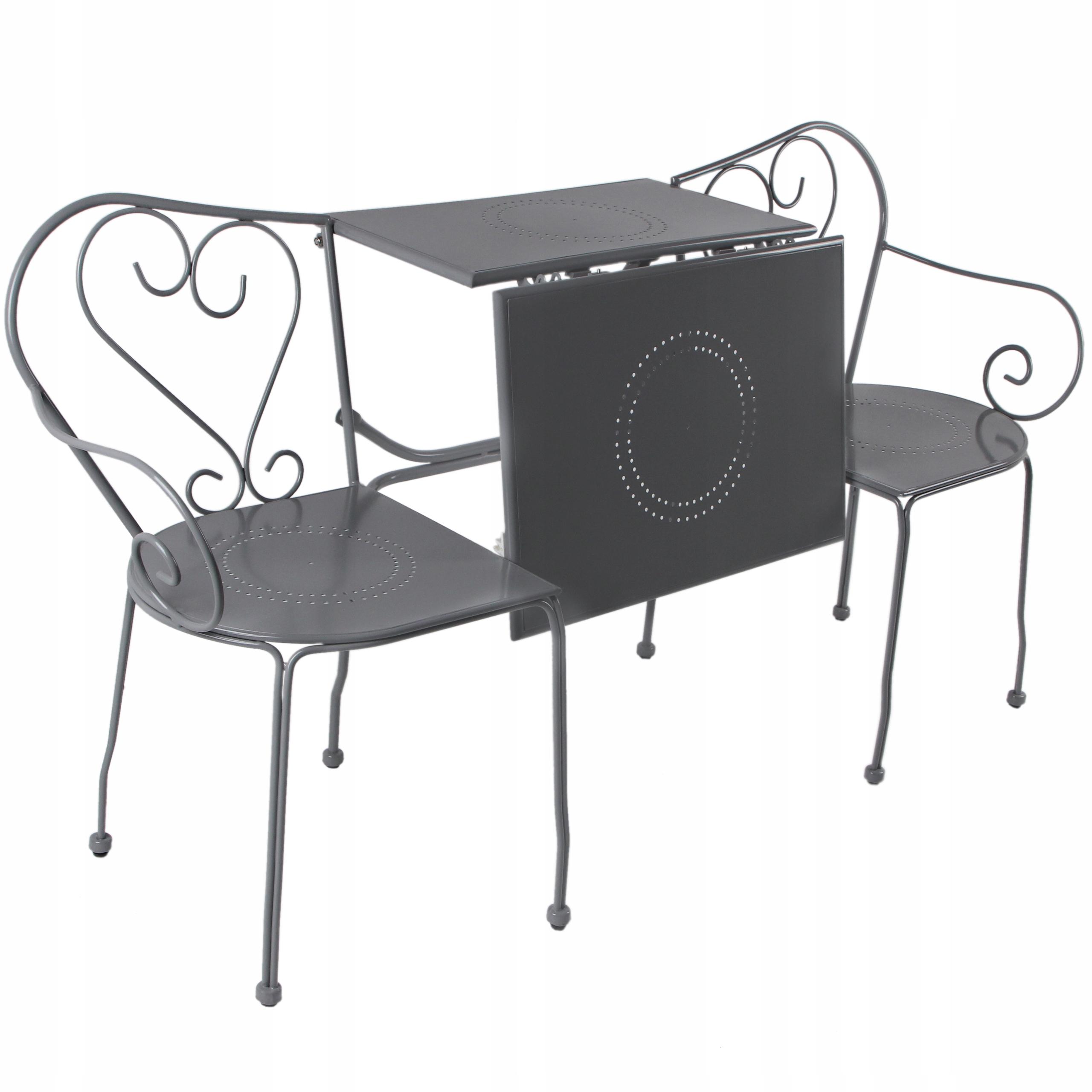 Záhradný nábytok Sada stoličkových stoličiek 3v1 od výrobcu Esschert Design