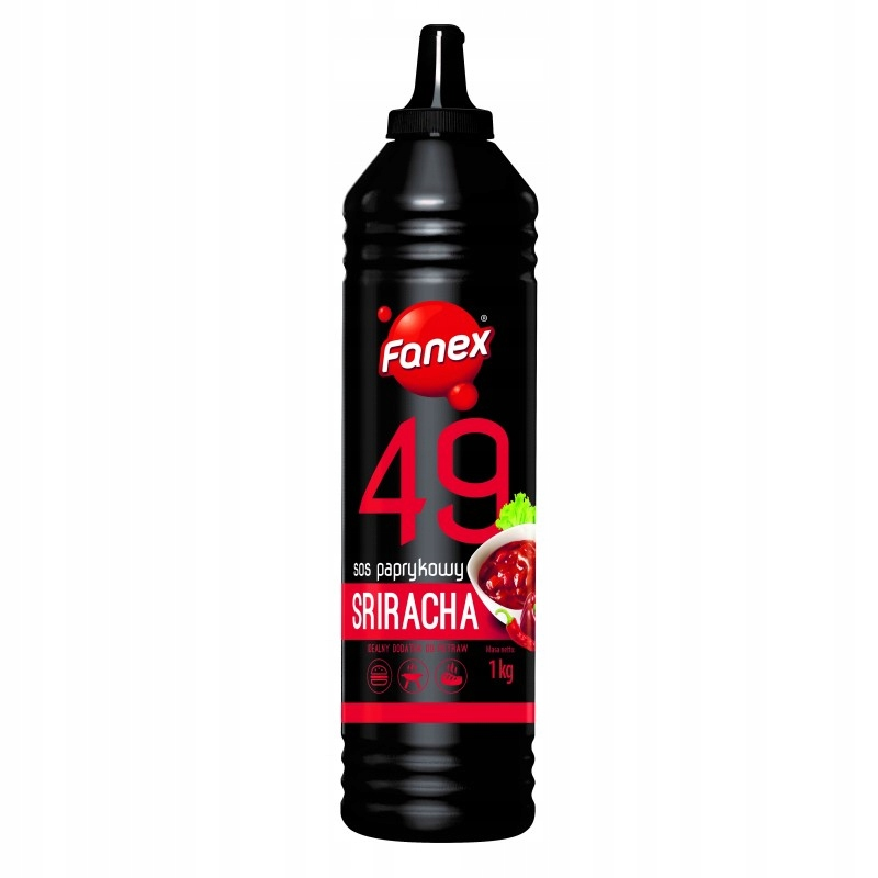 Item FANEX paprykowy Sriracha Sauce 1kg - taste of Hell