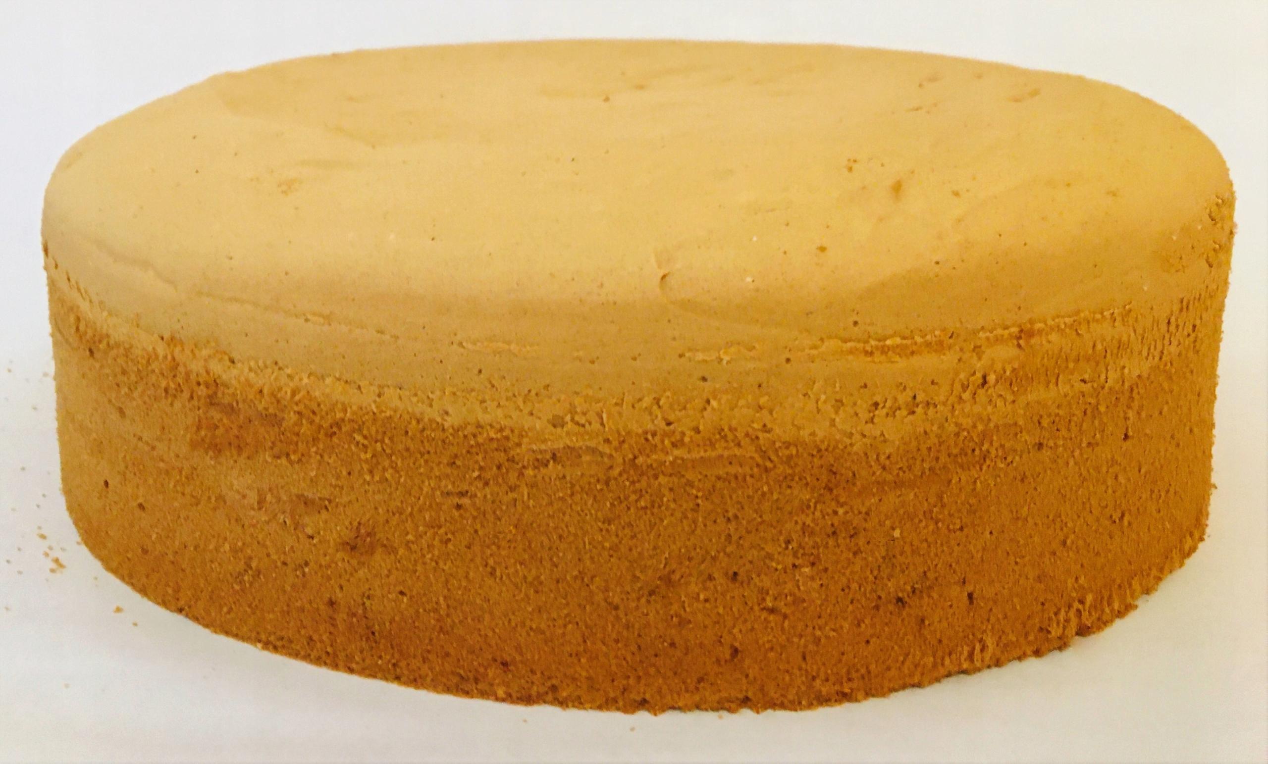 Дно бисквитное, диаметр 28 см