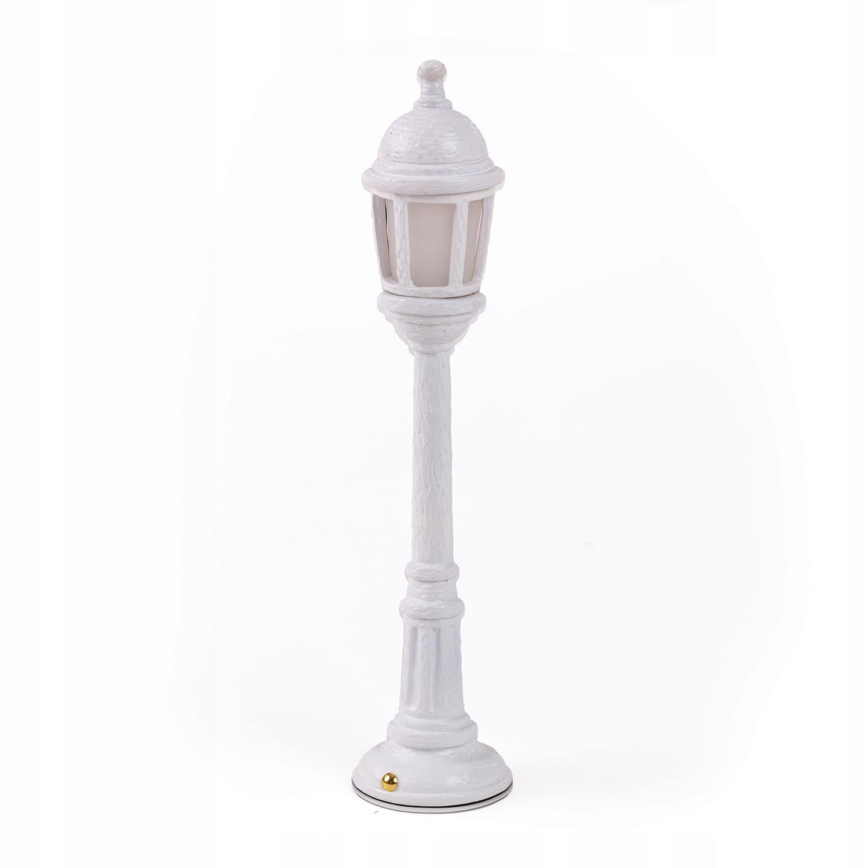SELETTI pouličné svietidlo Svietidlo nabíjateľné Vysoko.42cm