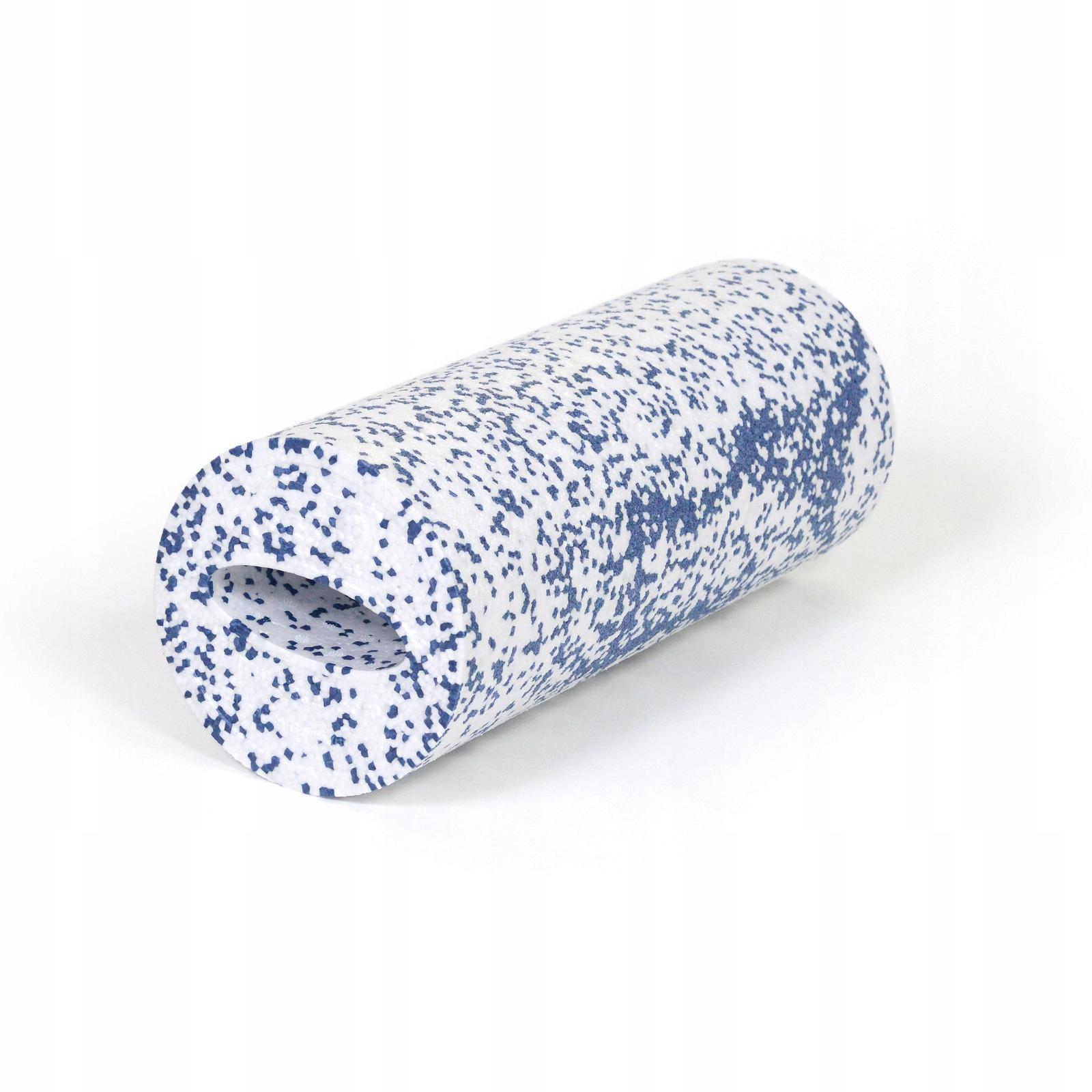 Sissel masážny valec 40 cm - bielo-modrý