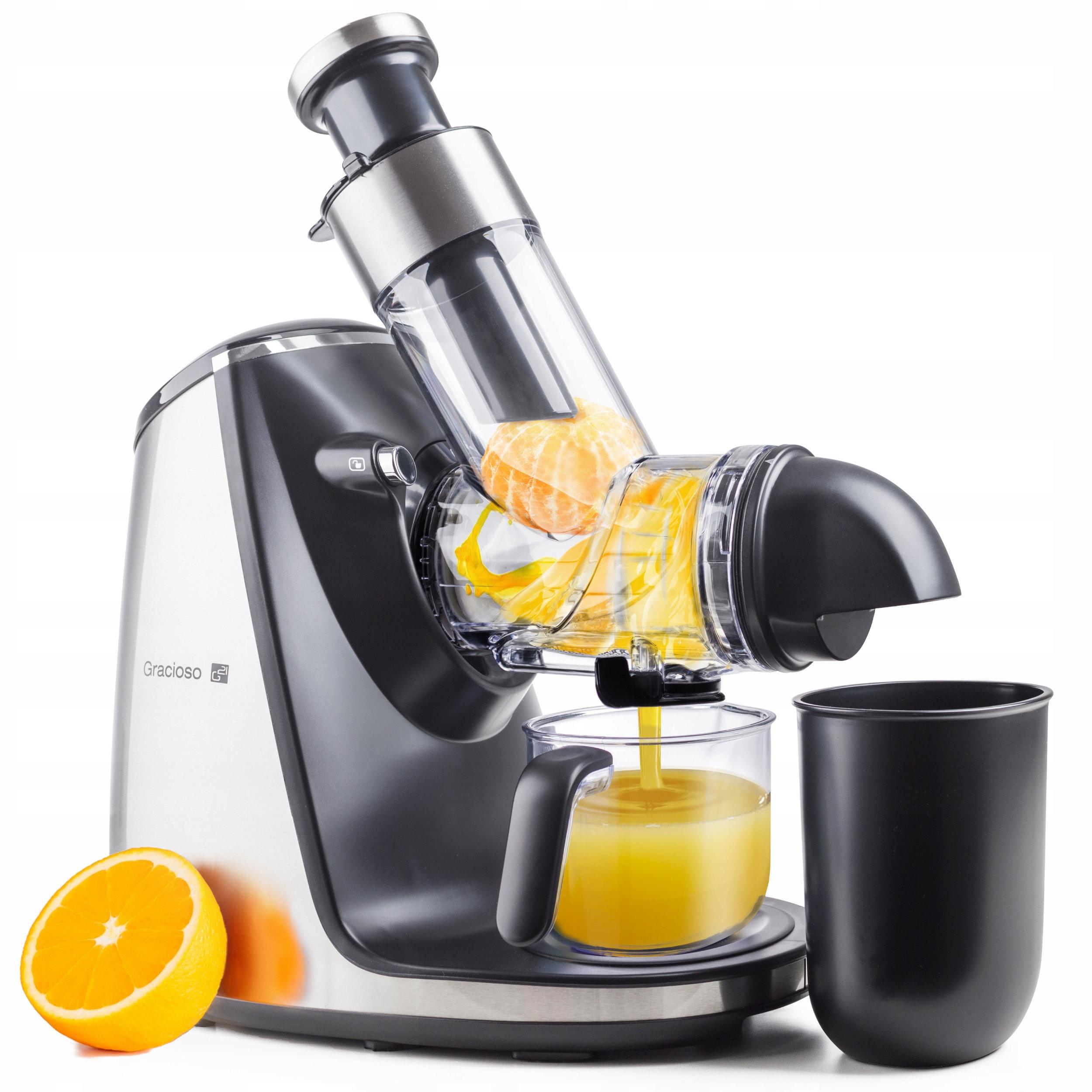 Wyciskarka wolnoobrotowa do soków owoce warzywa 7604905822