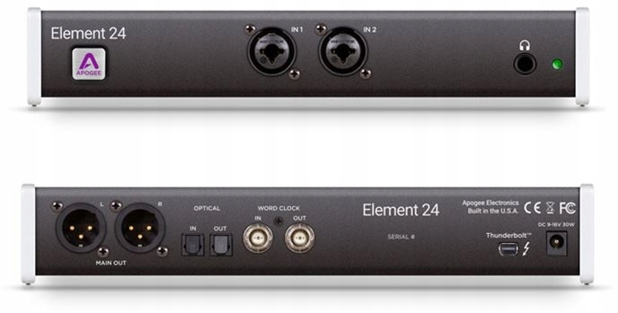 Item Apogee Element 24 audio Interface (10IN x 12OUT)