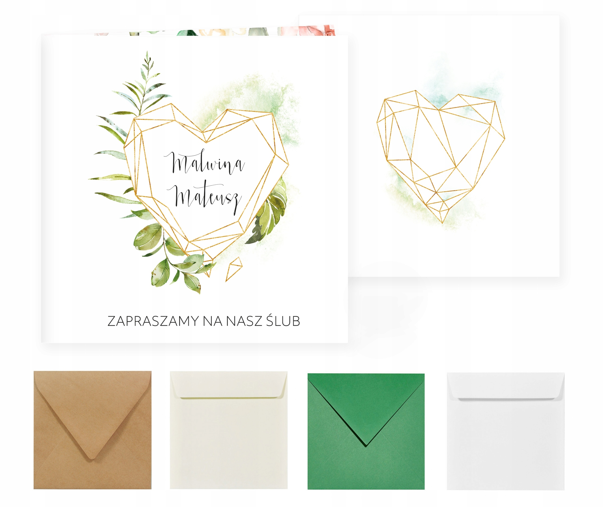 Свадебные приглашения на свадьбу венки boho flowers Z60
