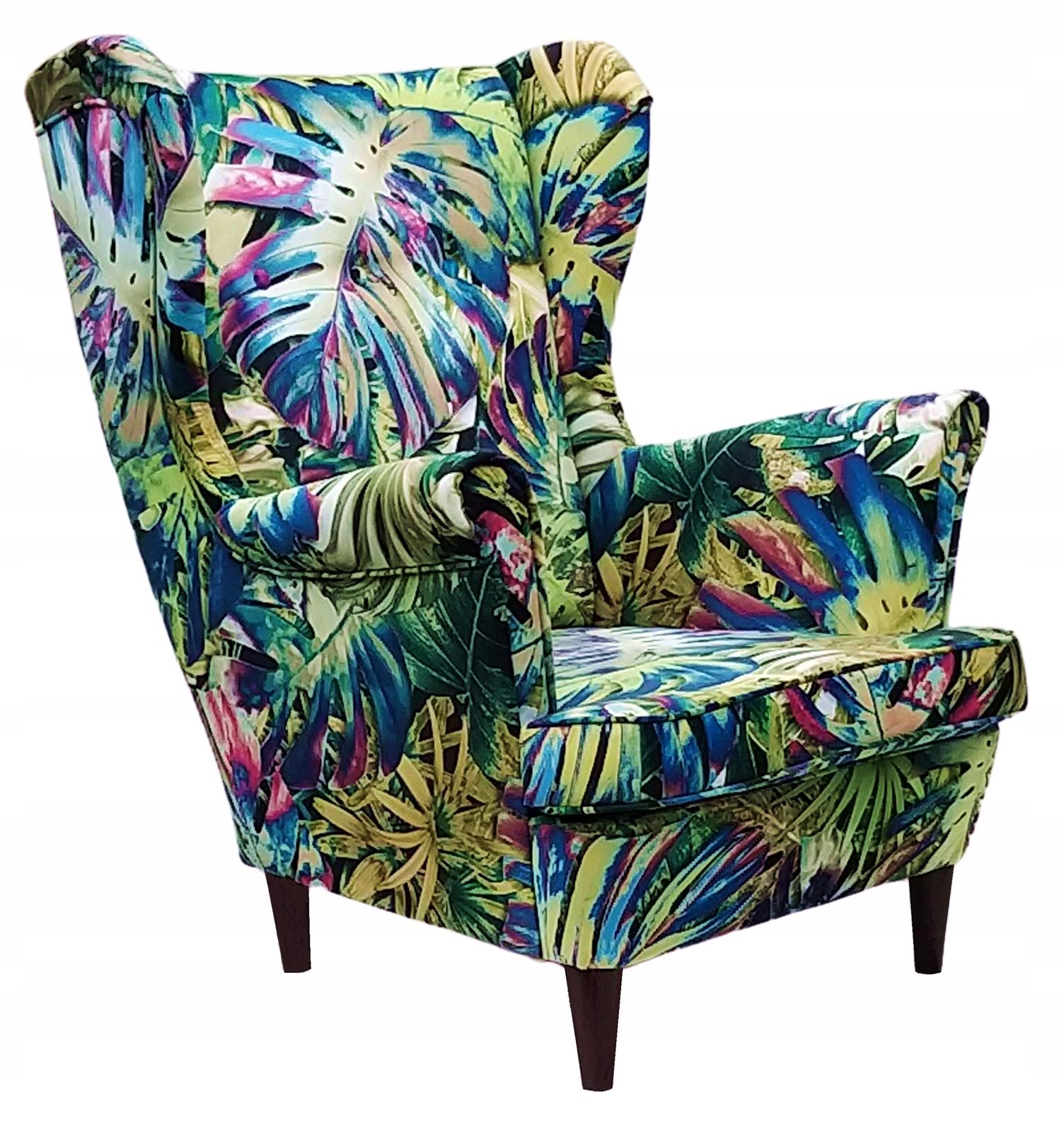 Удобное кресло Uszak с пуфом