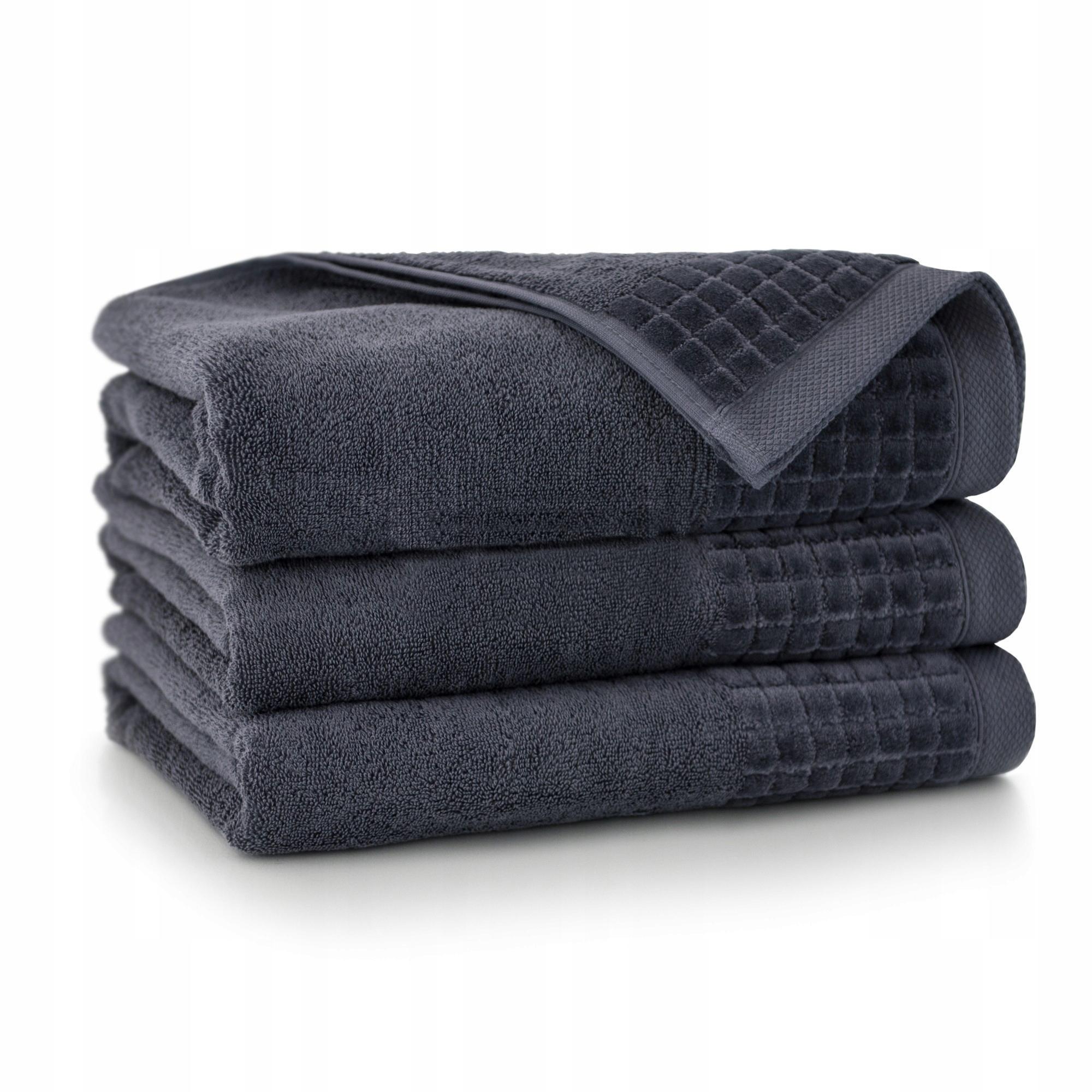 Полотенце Zwoltex Paulo 3 Graphite 70x140 Cotton 100