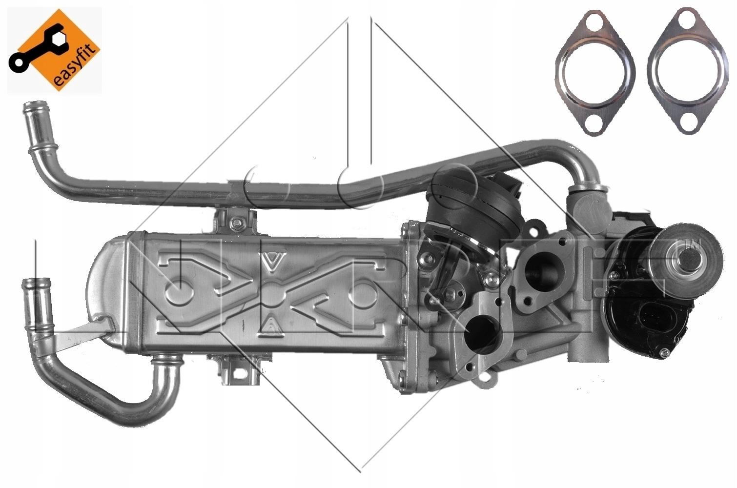 радиатор выхлопных газов системы рециркуляции ог nrf 48214