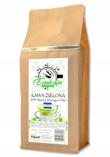ЗЕЛЕНЫЙ кофе в зернах для копчения Никарагуа SHG 1кг