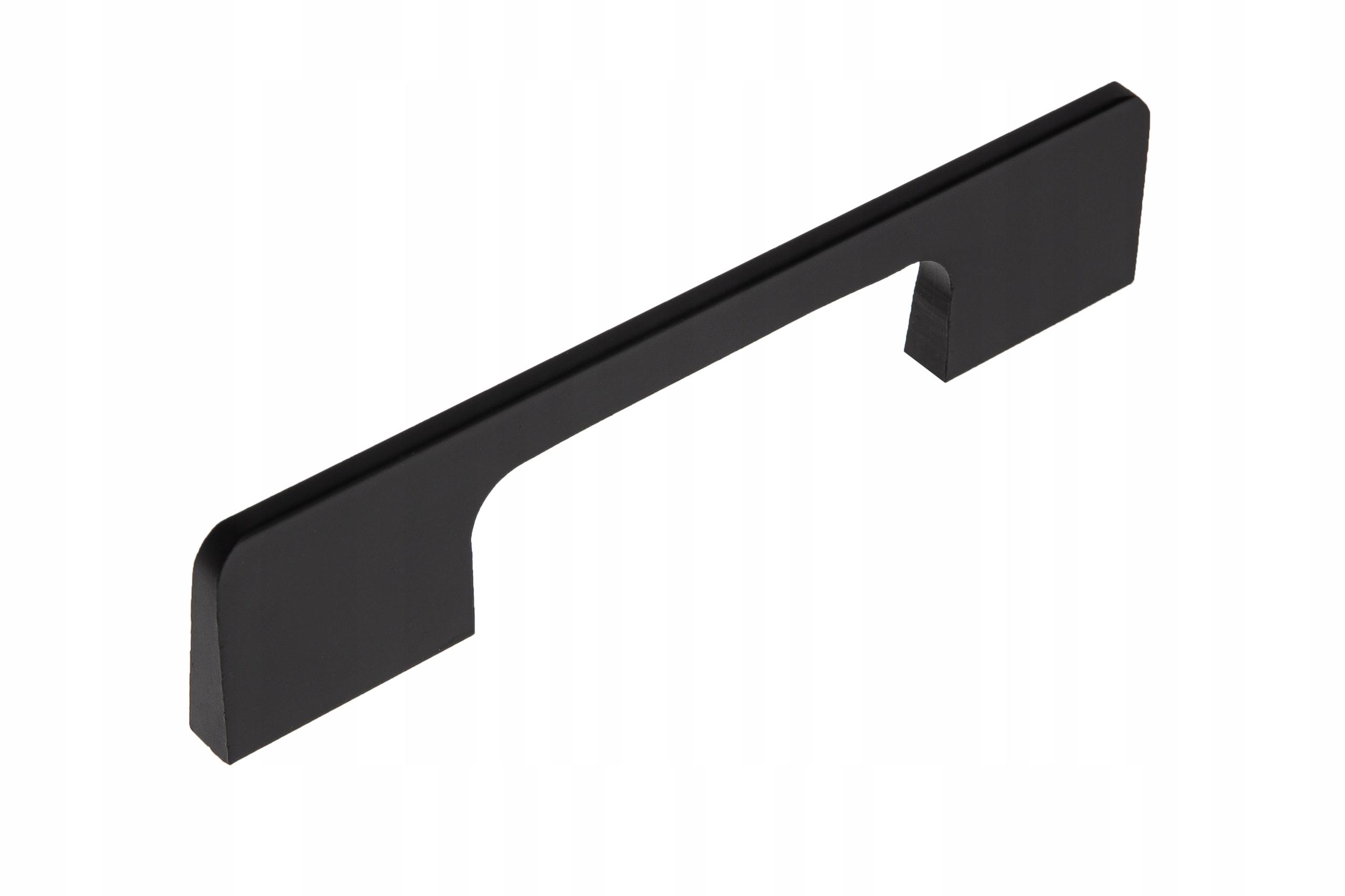 Ручка мебельная BELICE черная матовая 128 мм