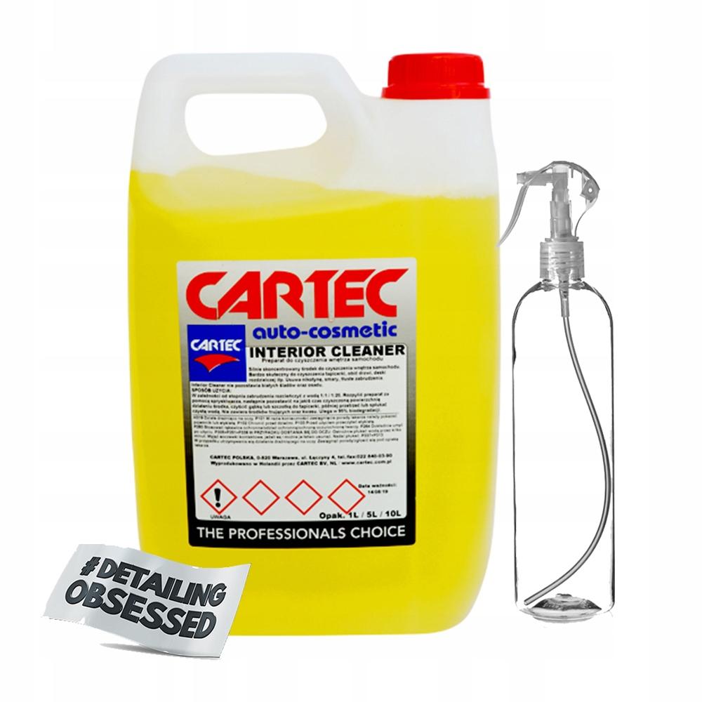 Cartec Interior Cleaner 5l очистка салона