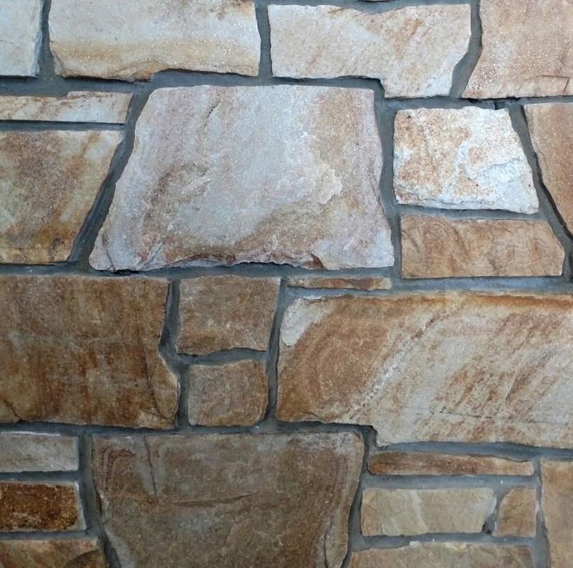 Kamień elewacyjny – gnejs – mur francuski - v.A