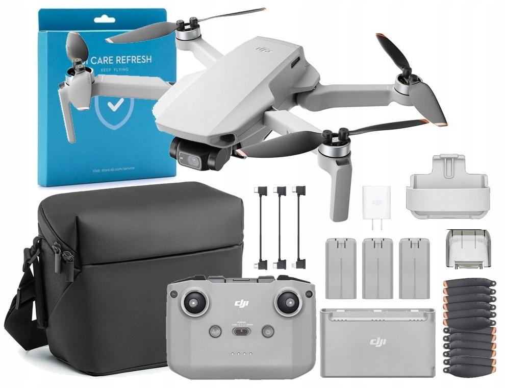 Dron DJI Mini 2 Zestaw Combo Ubezpieczenie 2 lata