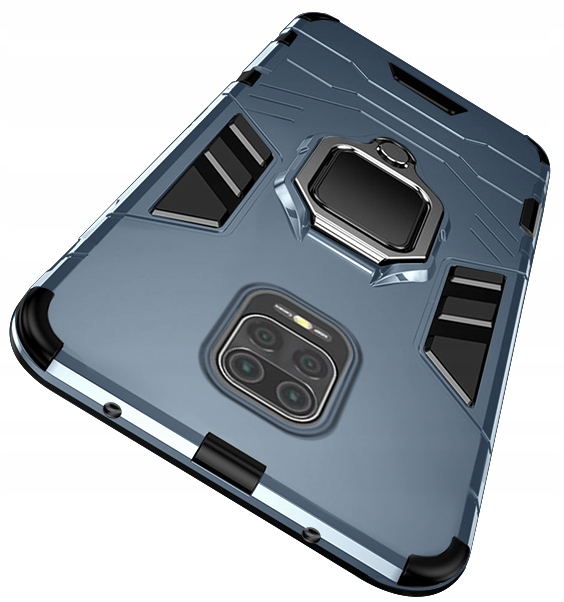 Etui do Redmi Note 9S 9 Pro Ring Case Uchwyt Szkło