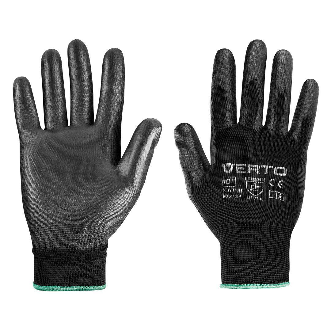 Садовые перчатки с полиуретановым покрытием размер 10 97H138 VERTO