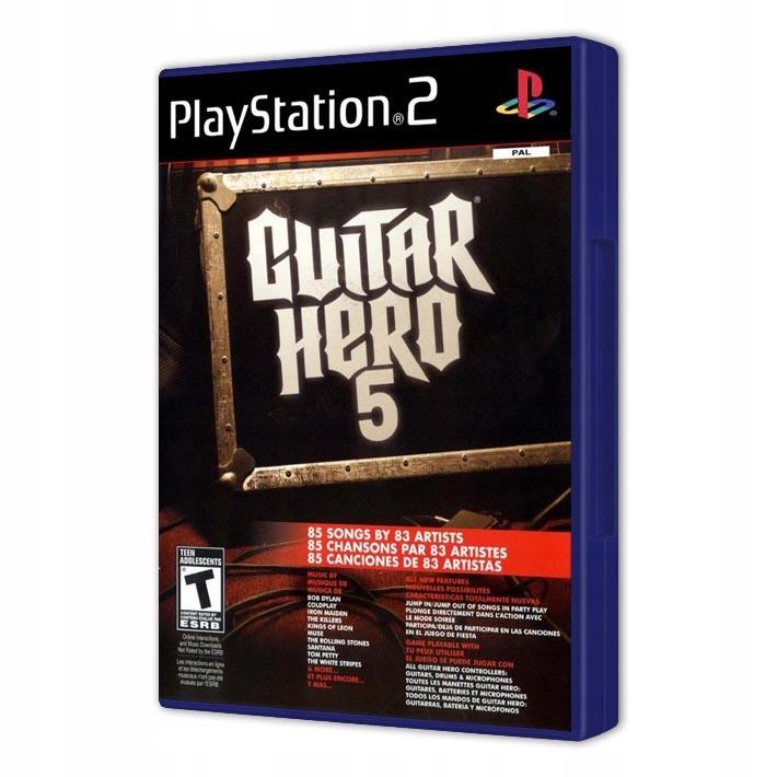GUITAR HERO 5 NOVÉ PS2