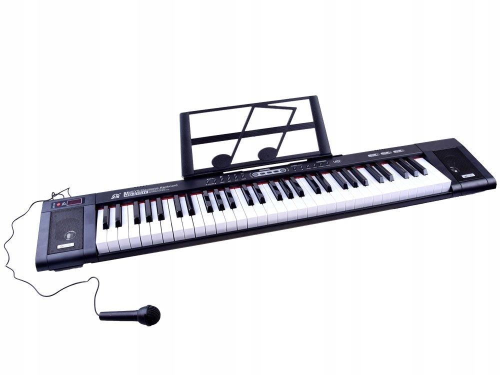 Organy MQ6151L 61 podświetlane klawisze IN0124 Materiał Plastik