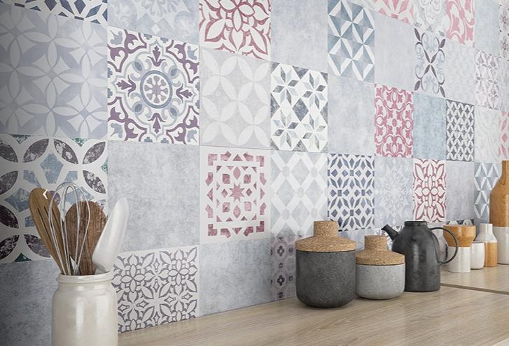 Laminátové podlahy FAUS | Mozaiková dlaždica
