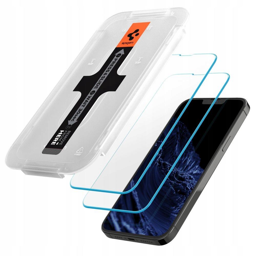2x Szkło Spigen EZ Fit do iPhone 13 Pro Max Przeznaczenie Apple