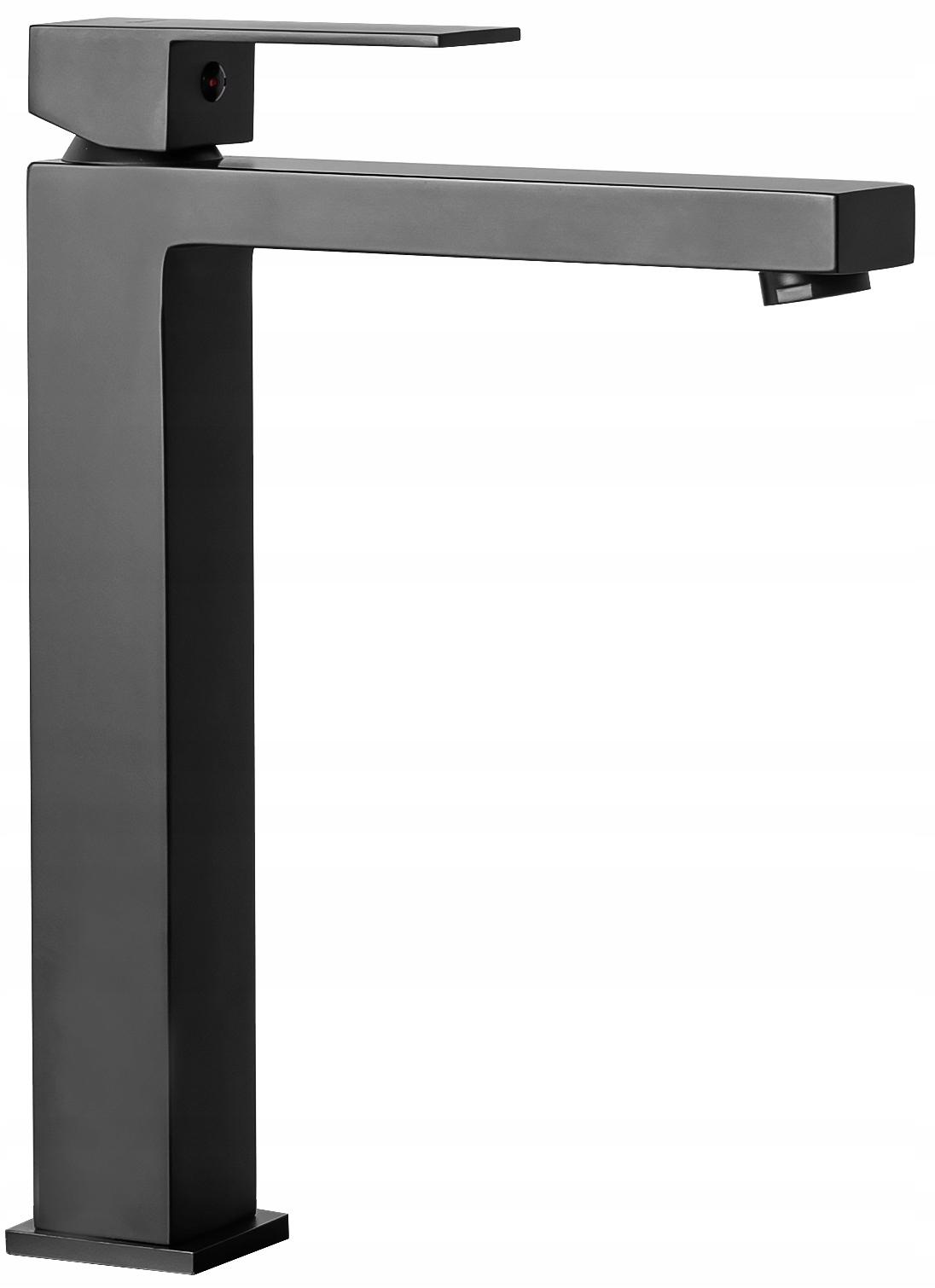 Umyvadlová batéria RI FENIX BLACK H umývadlo vysoký kohútik, čierna