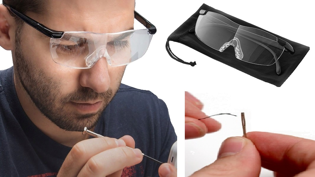Item GLASSES, MAGNIFIER 160% FOR READING MAGNIFIER ZOOM