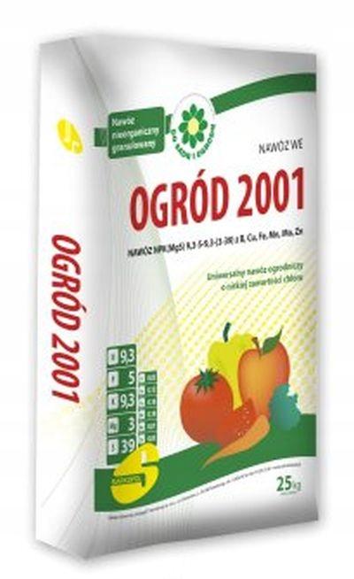 Удобрение Сад 2001 УНИВЕРСАЛЬНЫЙ 25кг под фрукты овощи