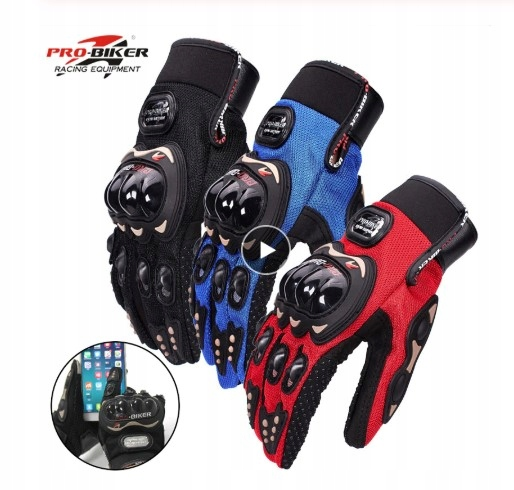 ПЕРЧАТКИ MOTOR QUAD PRO-BIKER M / L / XL COLORS TOUCH