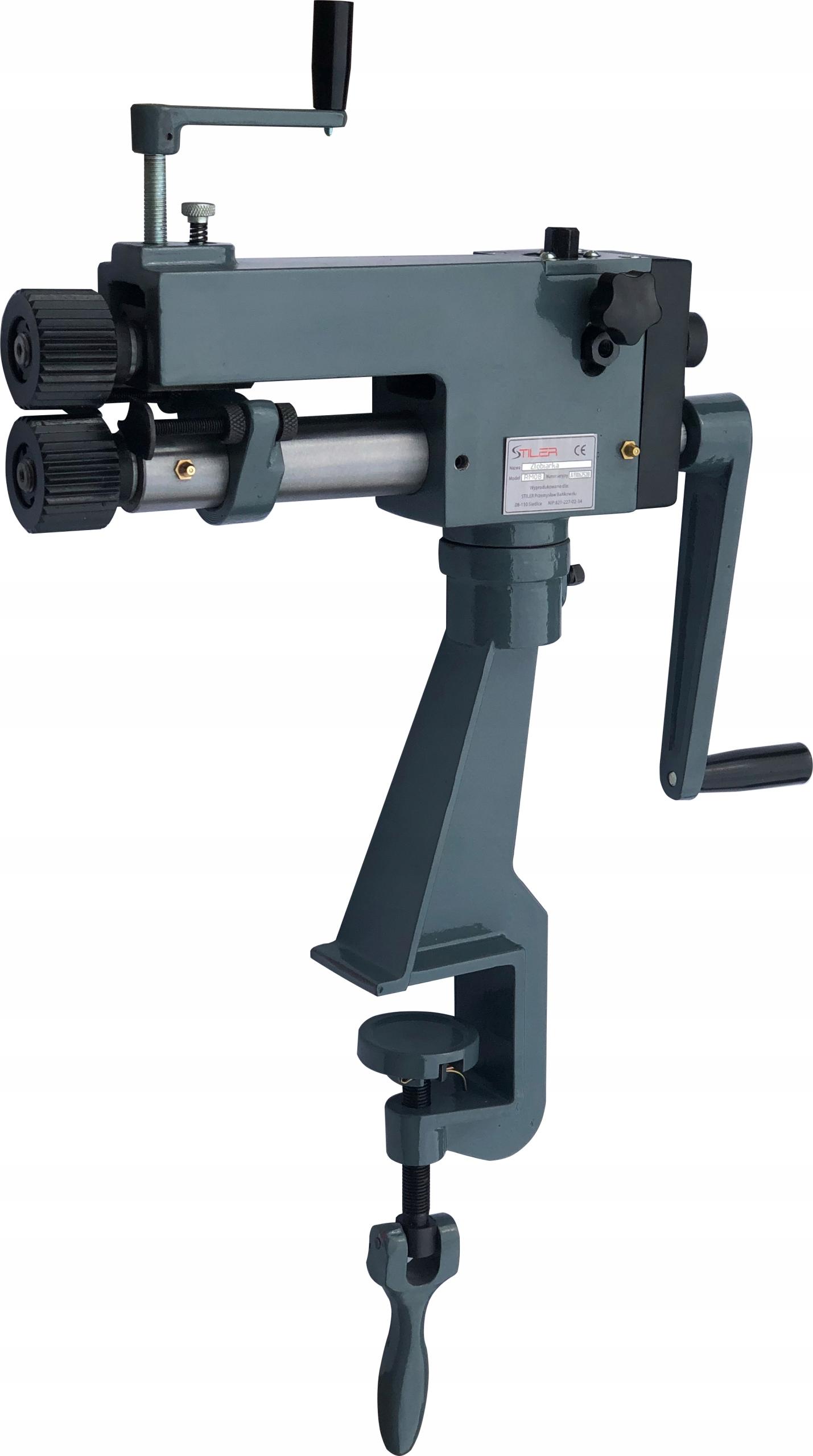 STILER RM08 STRONG ROLLER GROOVING MACHINE ROLLING MACHINE HIT Вага продукту з індивідуальною упаковкою 30 кг