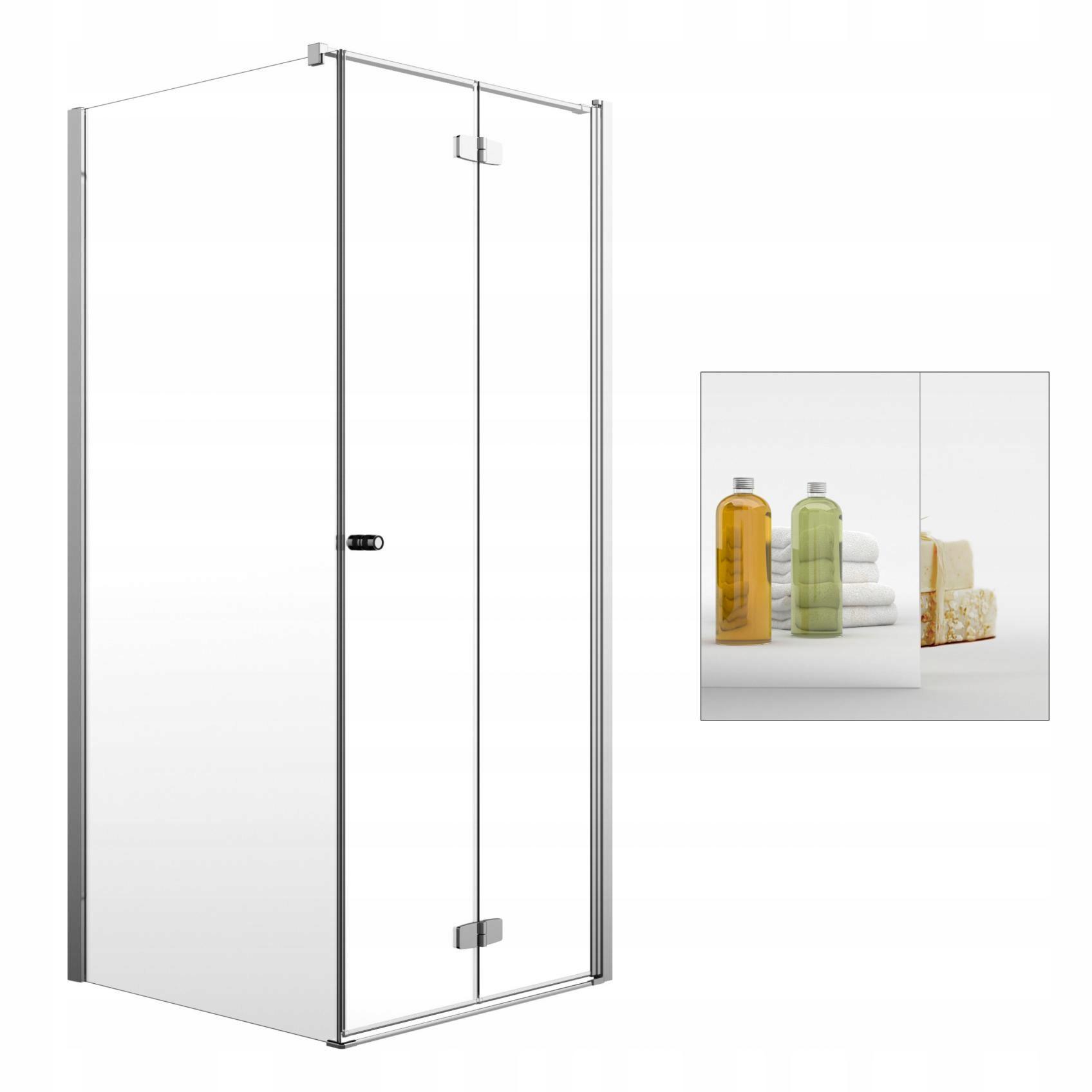 Sprchovací kút Nové Fuenta KDJ B 90x110 zrkadlo S