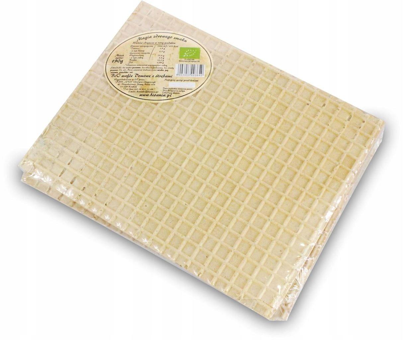 Домашние вафли с отрубями без добавления сахара Био 190