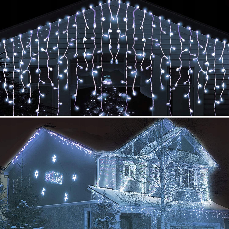 ЛАМПЫ LED LIGHT CURTAIN 400 10M Холодный белый