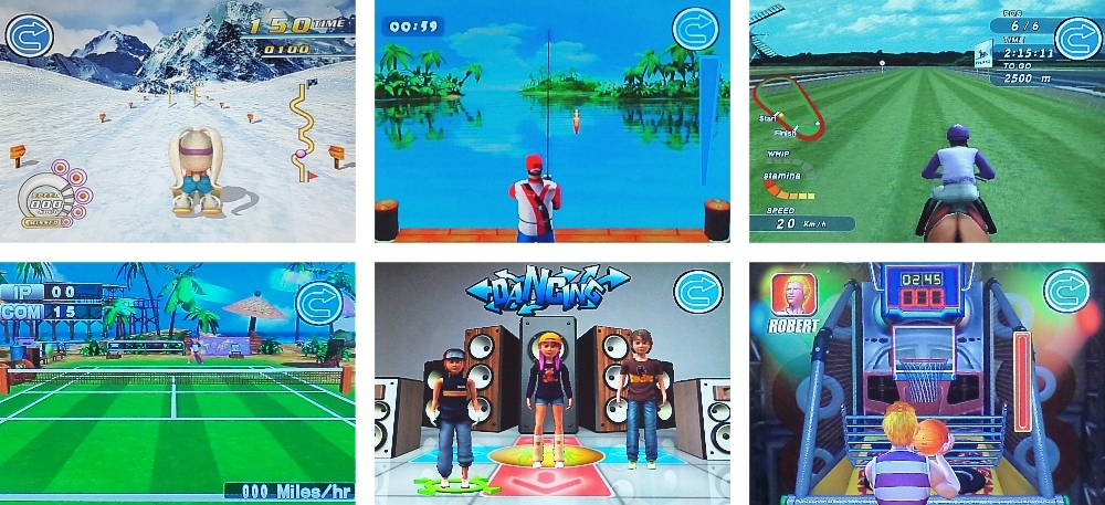 MOTION TELEVISION GAME CONSOLE 244 MISTRAL GAMES Модель MI-DM6